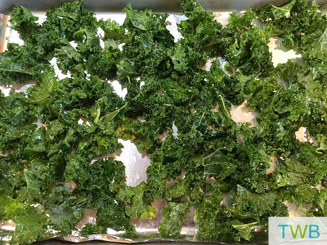 Kale Chips step 2