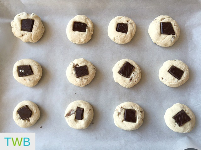 Lindt Shortbread Cookies - ready to bake