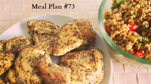 Meal plan #73