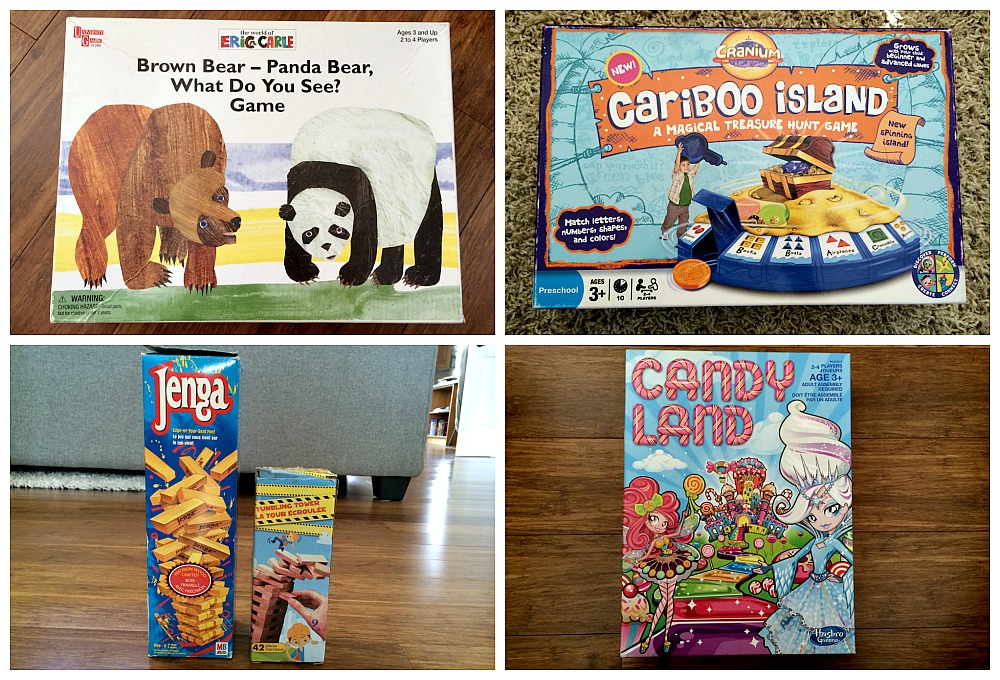 Rainy Day Activities - Board Games