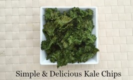 Simple & Delicious Kale Chips