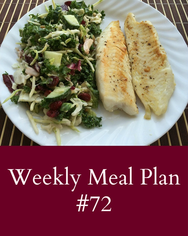 Weekly Meal #72