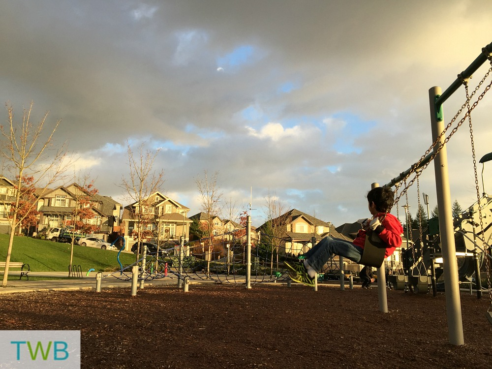 3TT - playing at the park