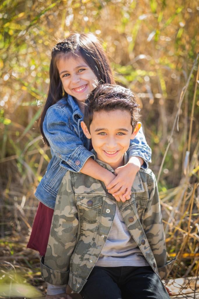 Black Umbrella Photography - siblings photo