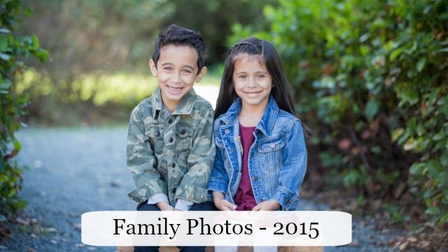 The Write Balance - Family Photos 2015