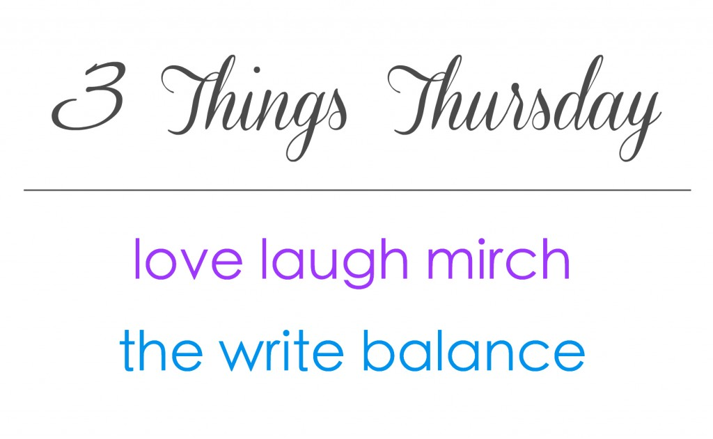 3ThingsThursday S & N