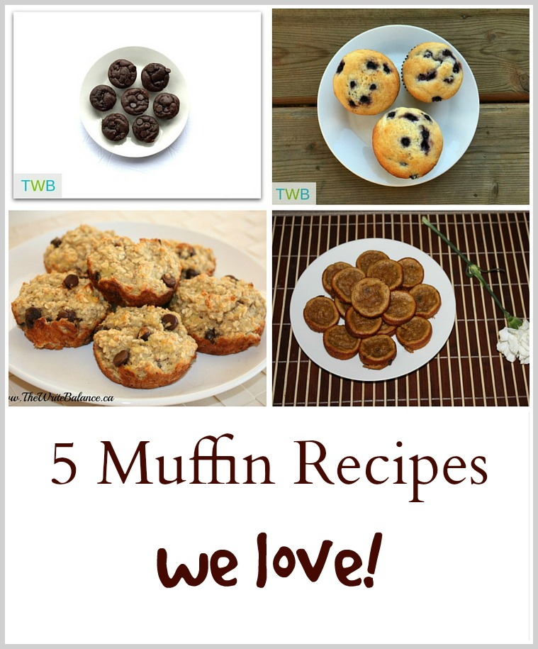 5 Favorite Muffins Recipes We Love