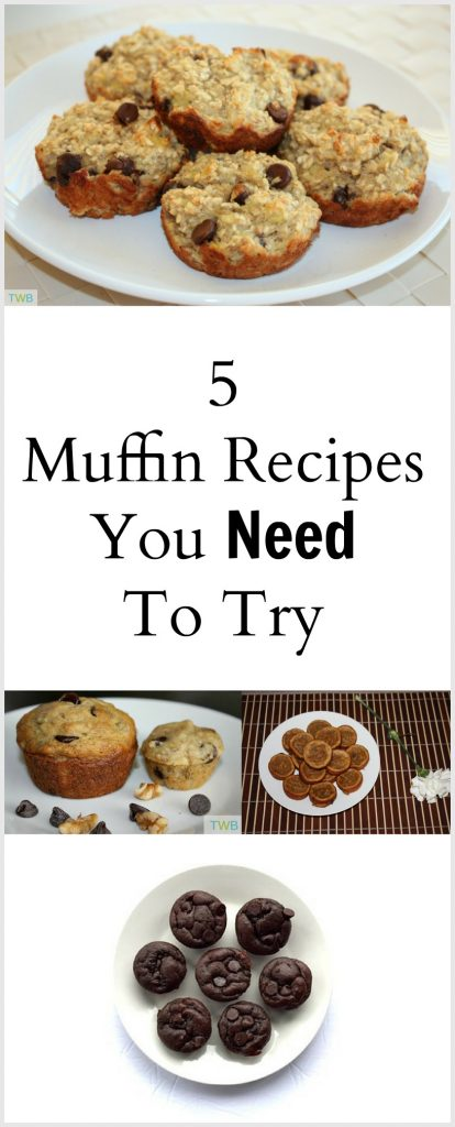 5 Muffin Recipes to Try
