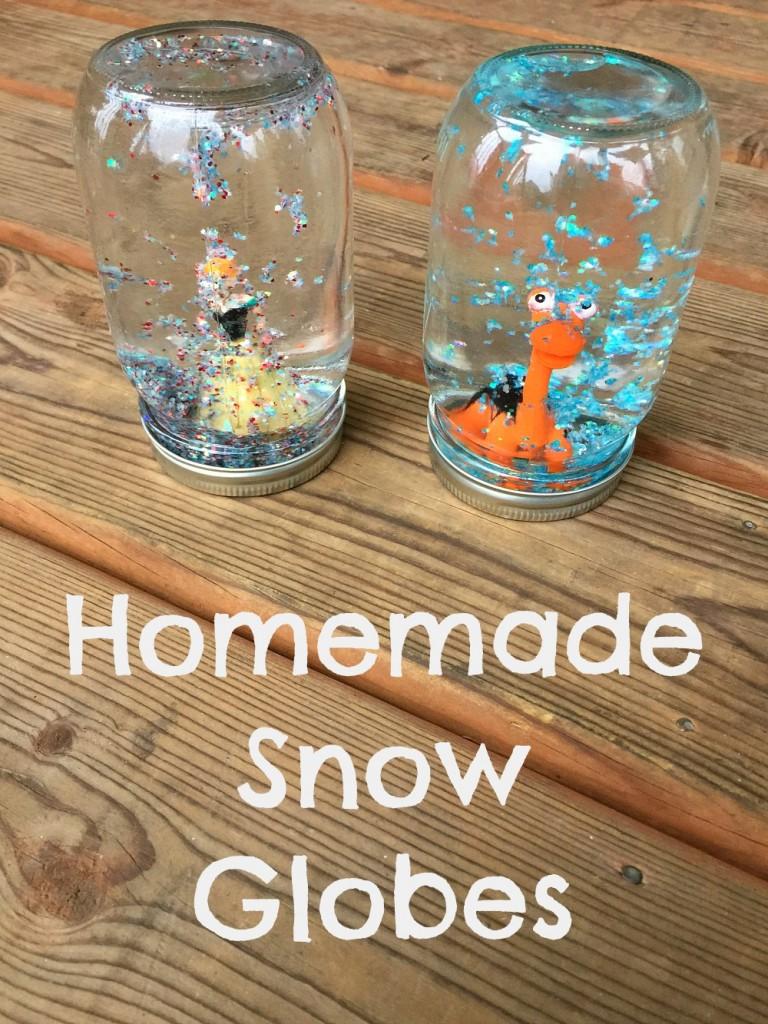 Homemade Snow Globes Pinterest