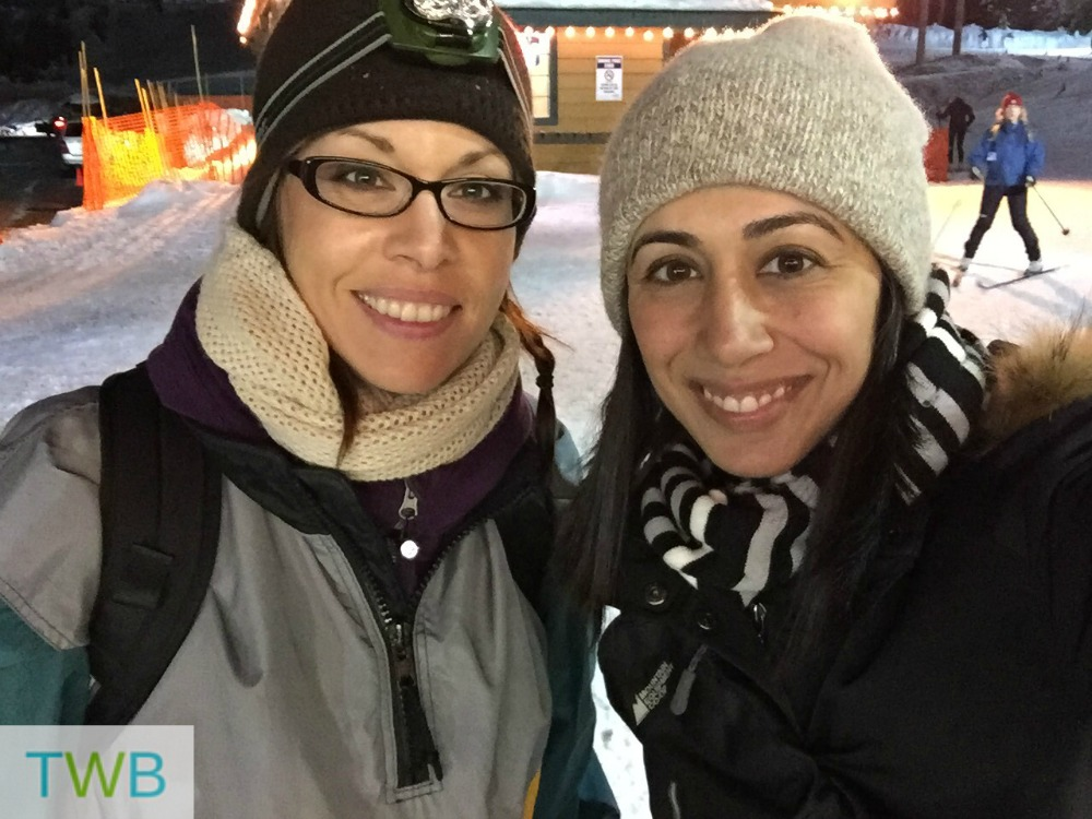 Snowshoeing with Raincity Parent