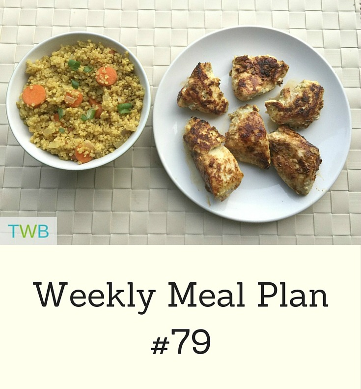 Weekly Meal Plan #79
