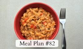 Meal Plan #82