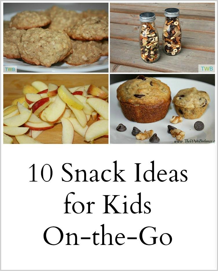 !0 Snacks for Kids on the Go - Pinterest