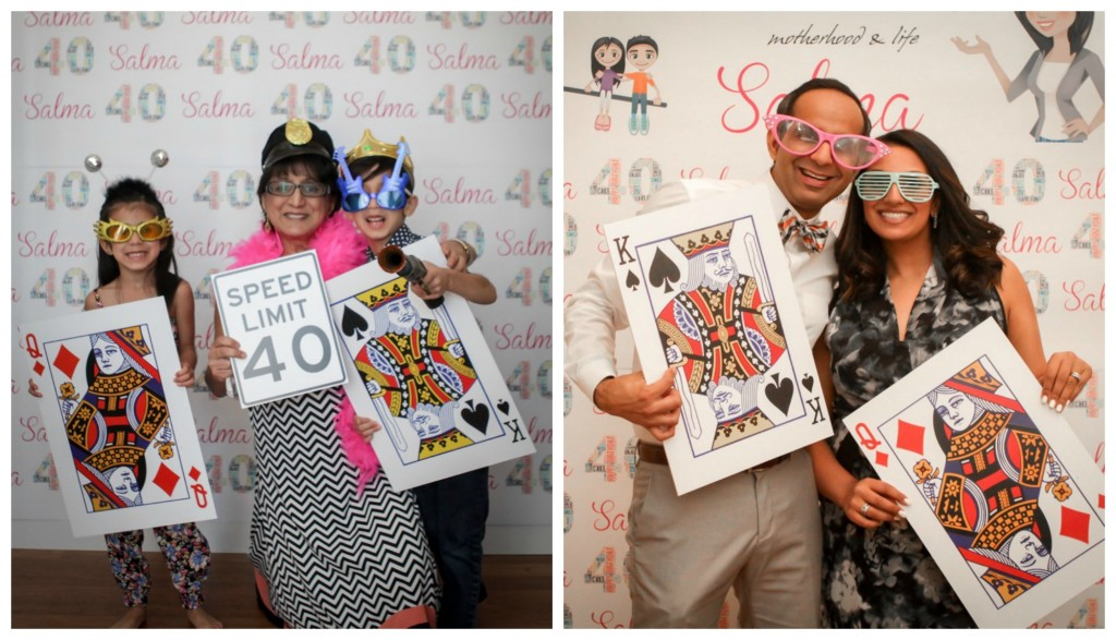 40th - photo booth 2