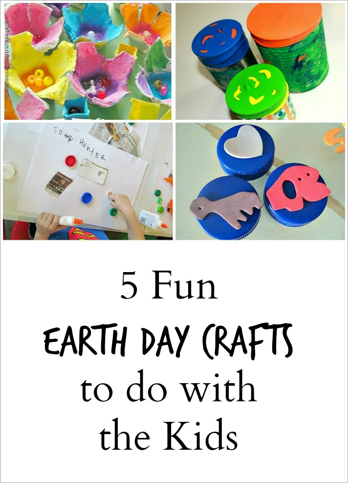 5 Earth Day Crafts - Pinterest