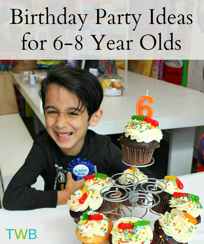 5 Birthday Party Ideas For Your 6-8 Year Olds