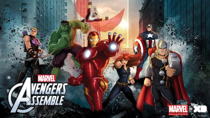Netflix Family Shows Avengers Assemble