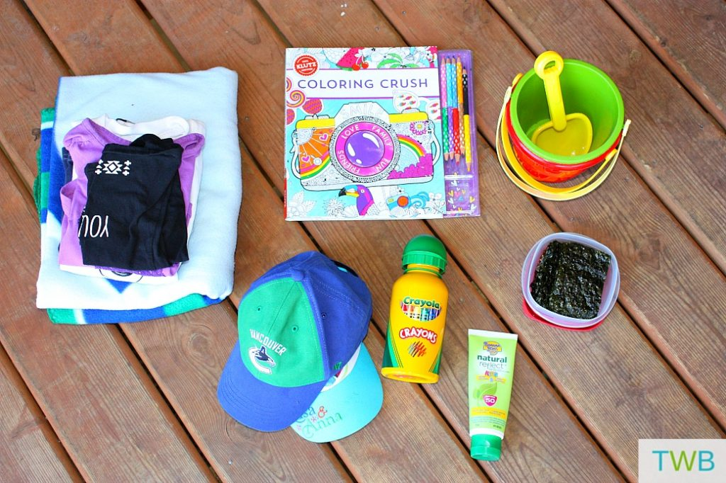 6 Things to Keep in the Car for your kids
