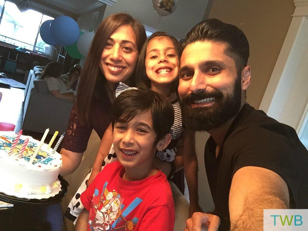 Keyan's 7th birthday at home