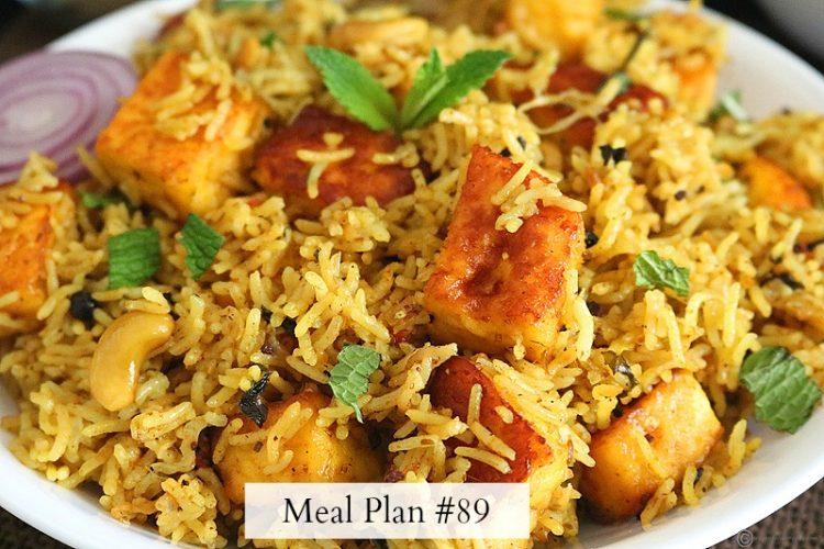 Meal Plan #89