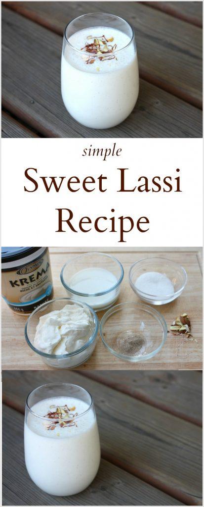 Simple Sweet Lassi Recipe