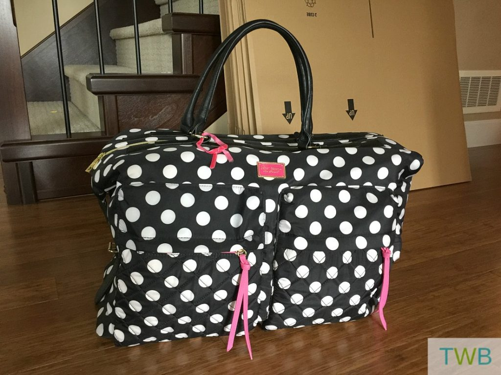 moving tips - overnight bag