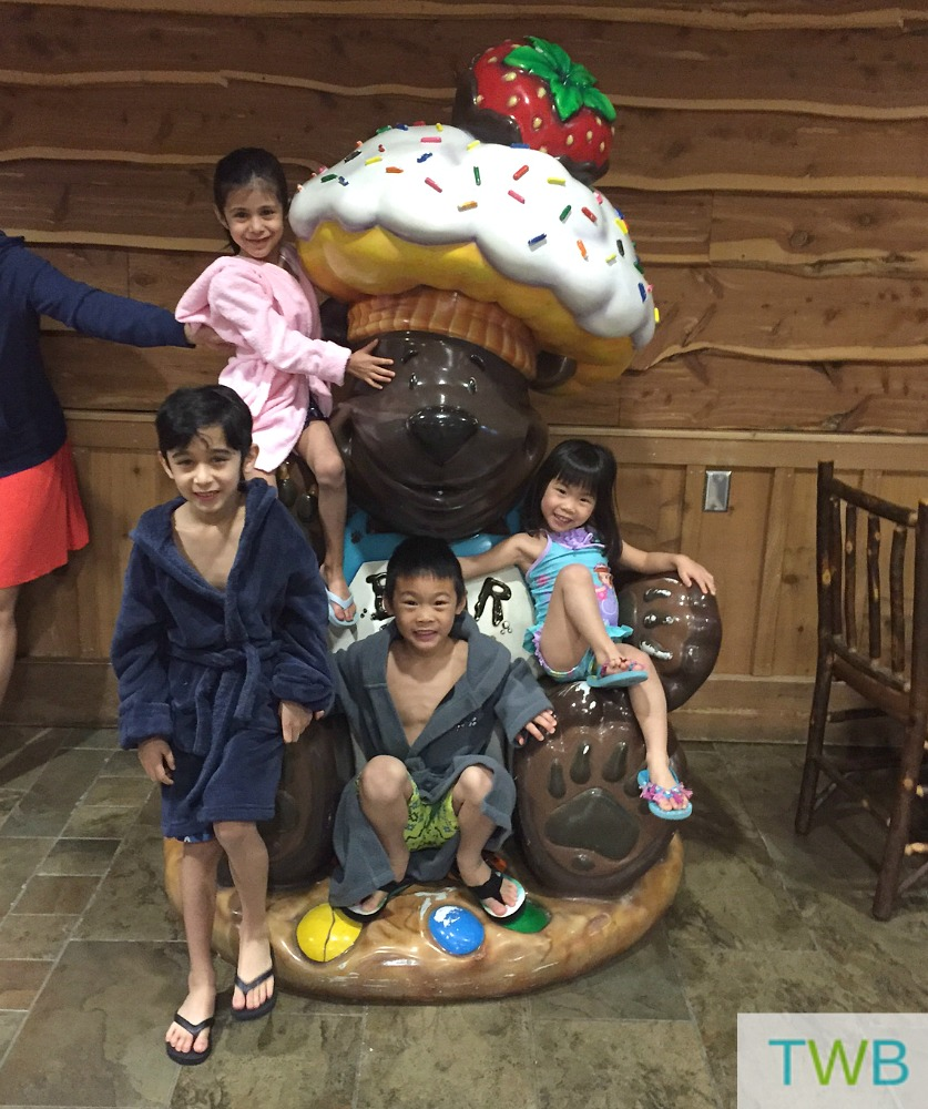 Great Wolf Lodge - ready for swimming