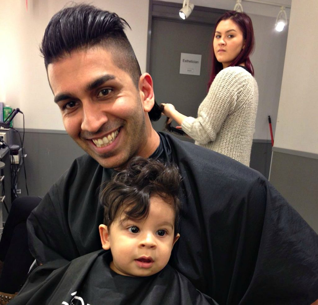 Nabil - Adam haircut