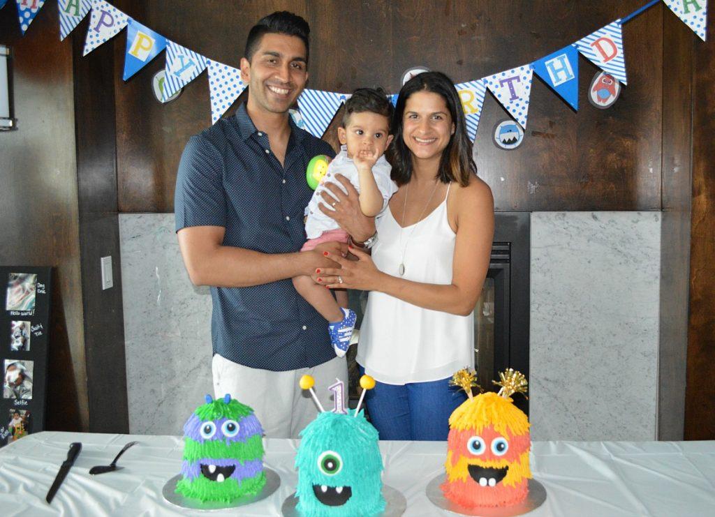 Nabil Karim - family photo