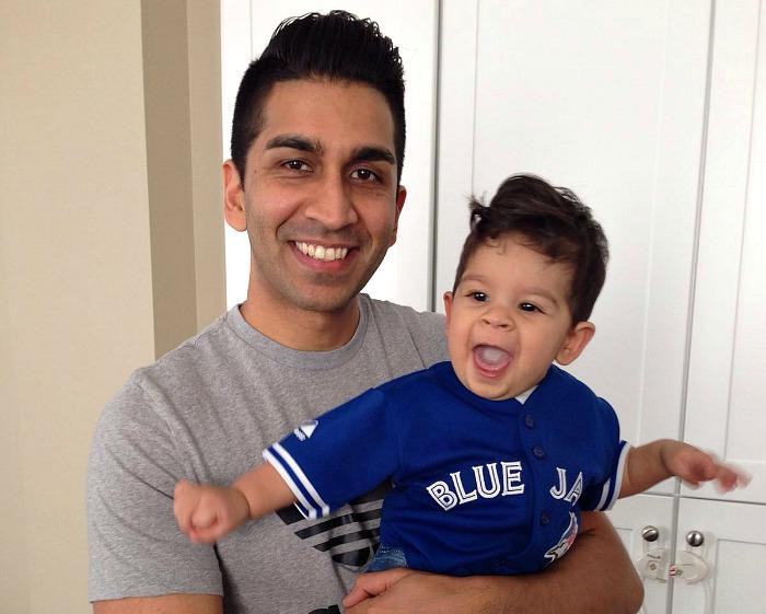 Nabil Karim with Adam