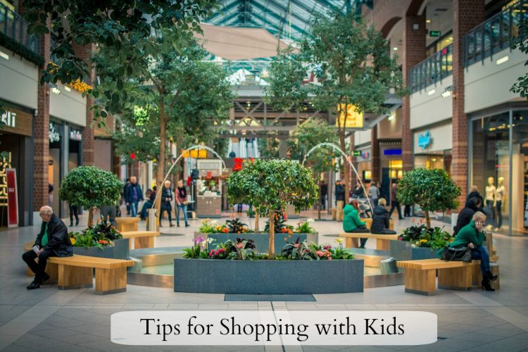 Tips for Shopping With Kids - feature