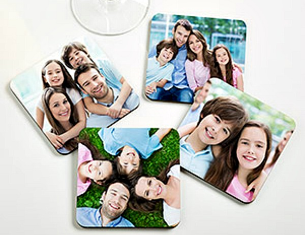 personalized photo coaster