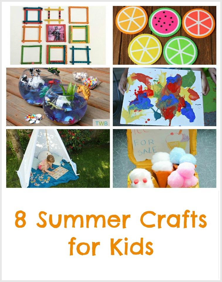 8 Fun Summer Craft Ideas - Pinterest