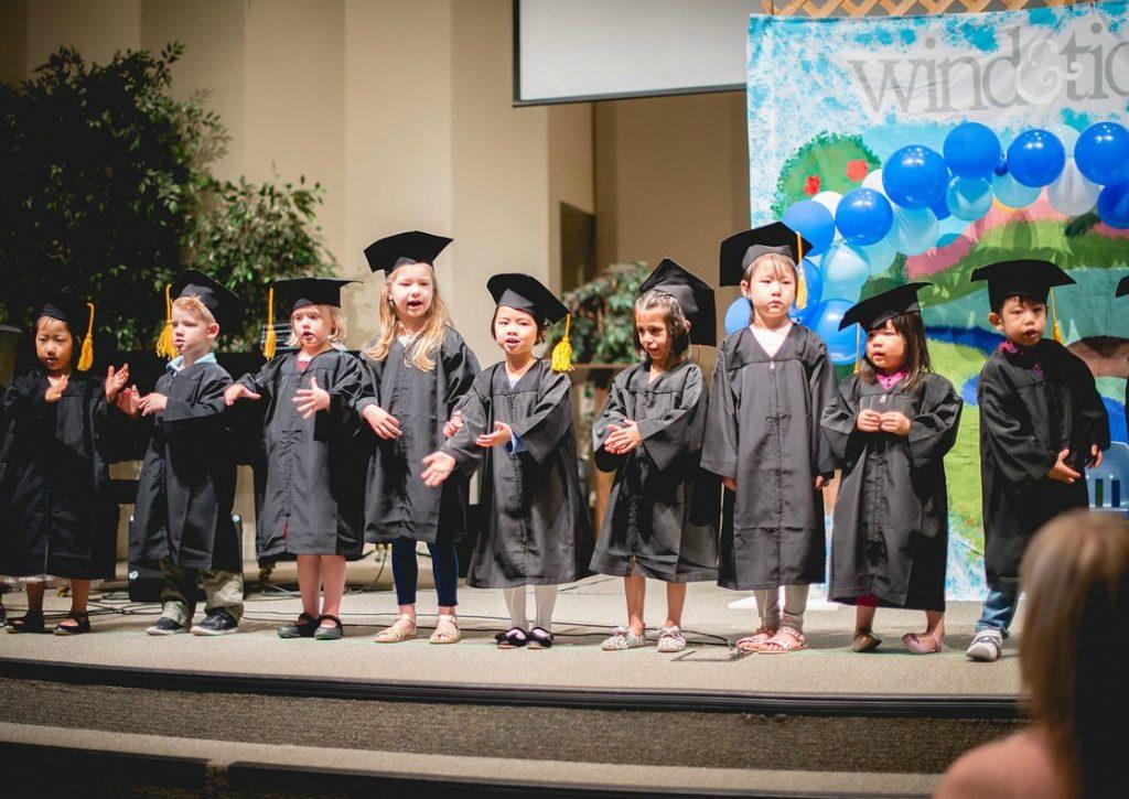 Kyah graduation - singing
