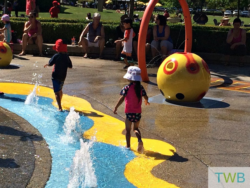 Simple Summer Fun - spray parks