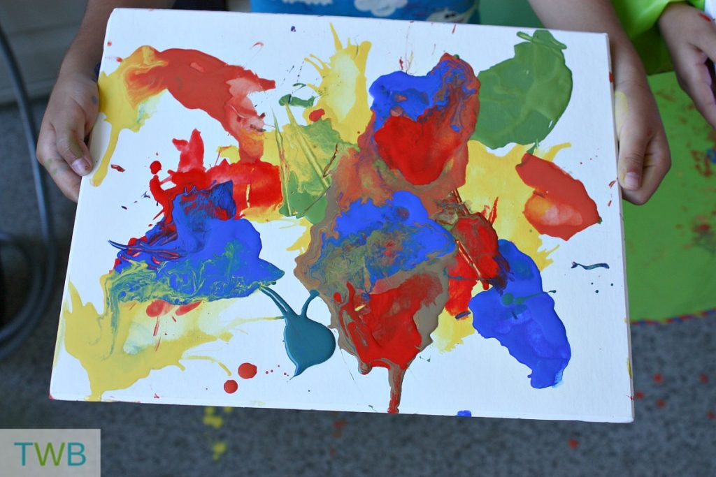 Summer Crafts - straw painting