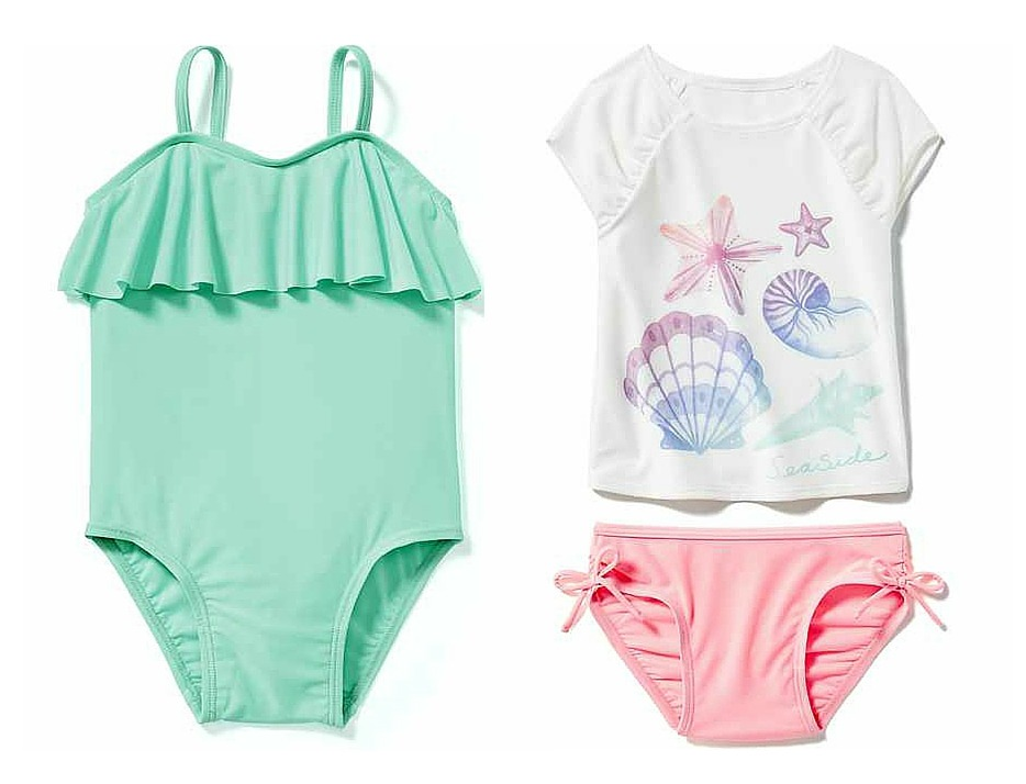 10 family beach vacation tips - 2 bathing suits