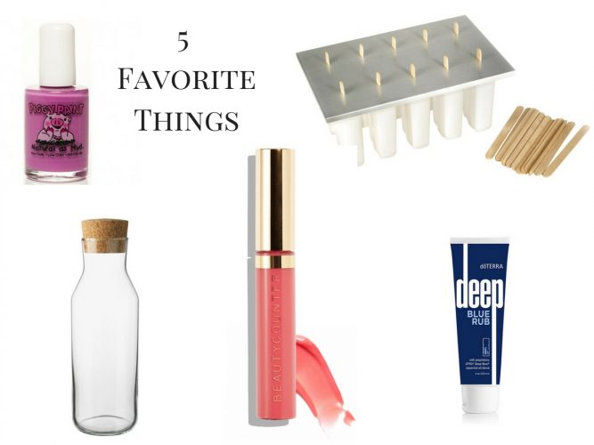 5 Favorite Things - feature