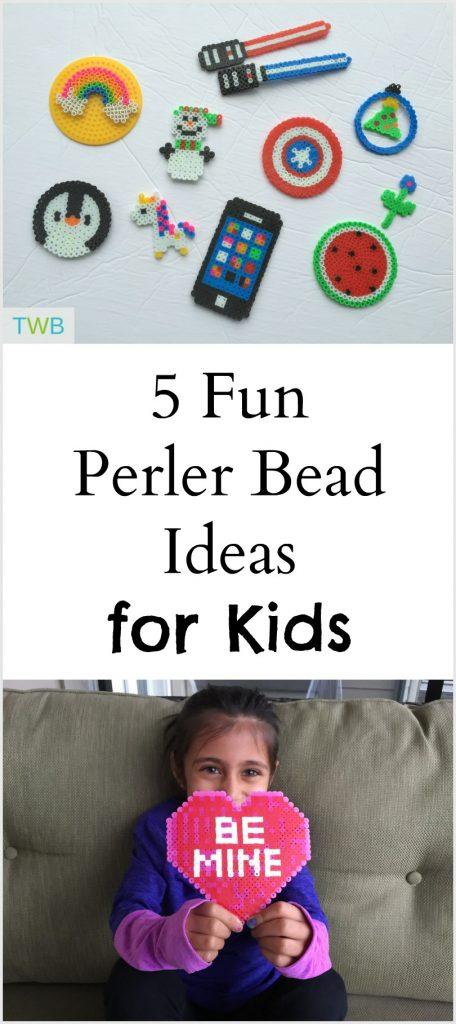 5 Fun and Creative Perler Bead Ideas