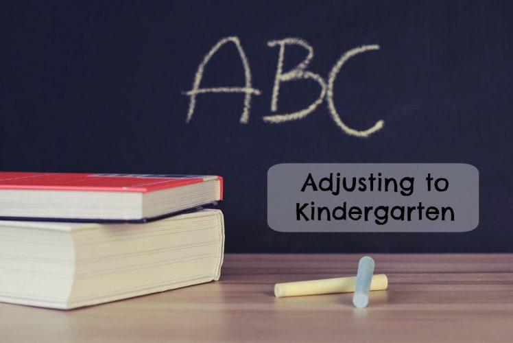Adjusting to kindergarten - feature