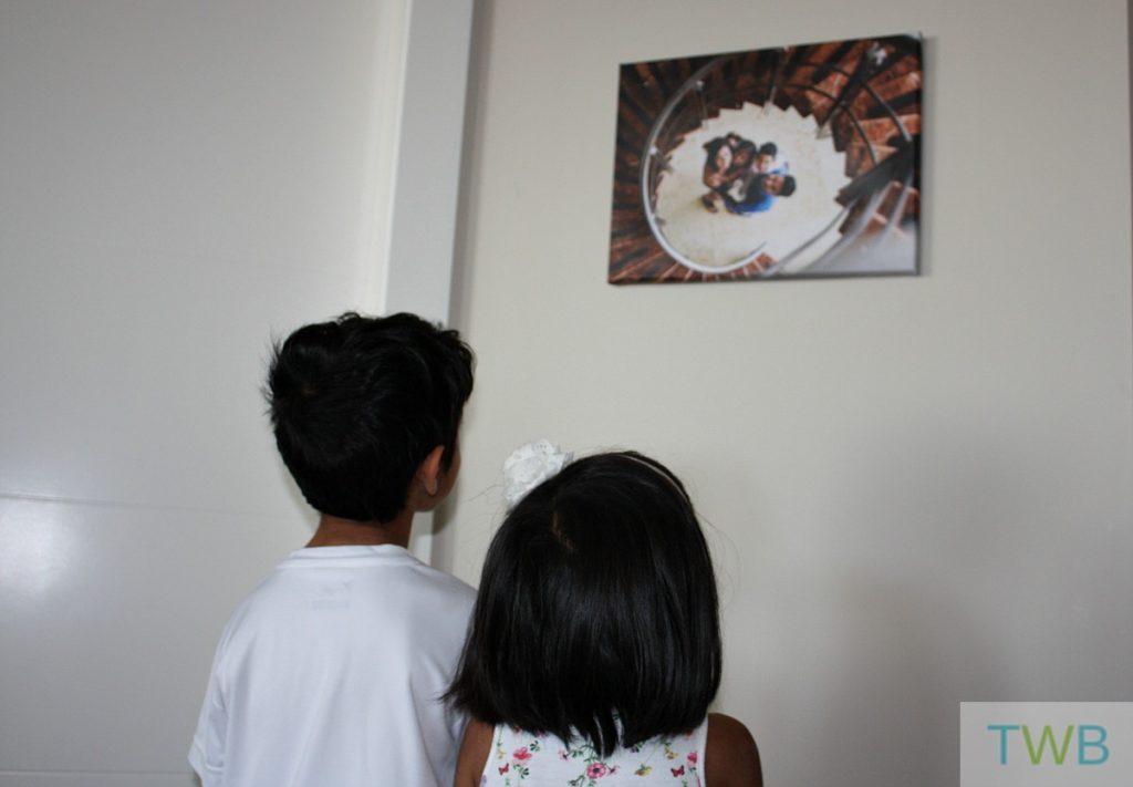 Family Photos - on the wall