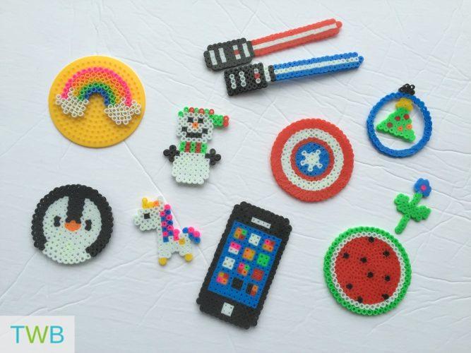 Perler Bead Creations - feature