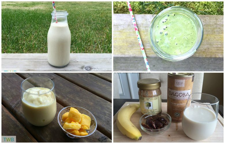 4 Awesome Breakfast Smoothies