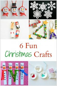 6 Fun Christmas and Holiday Crafts for Kids