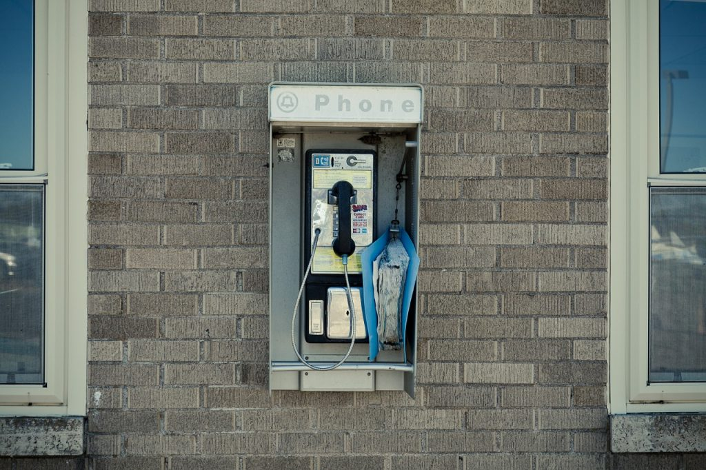 Remember pay phones?