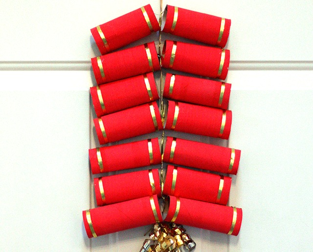 Chinese New Year Crafts - firecrackers