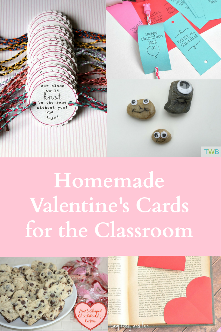 5 Homemade Valentine's Day Card Ideas for the Classroom - Pinterest