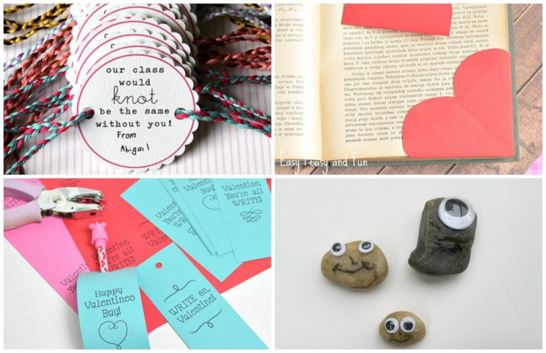 Valentine's Day Gift IDeas for the Classroom - collage