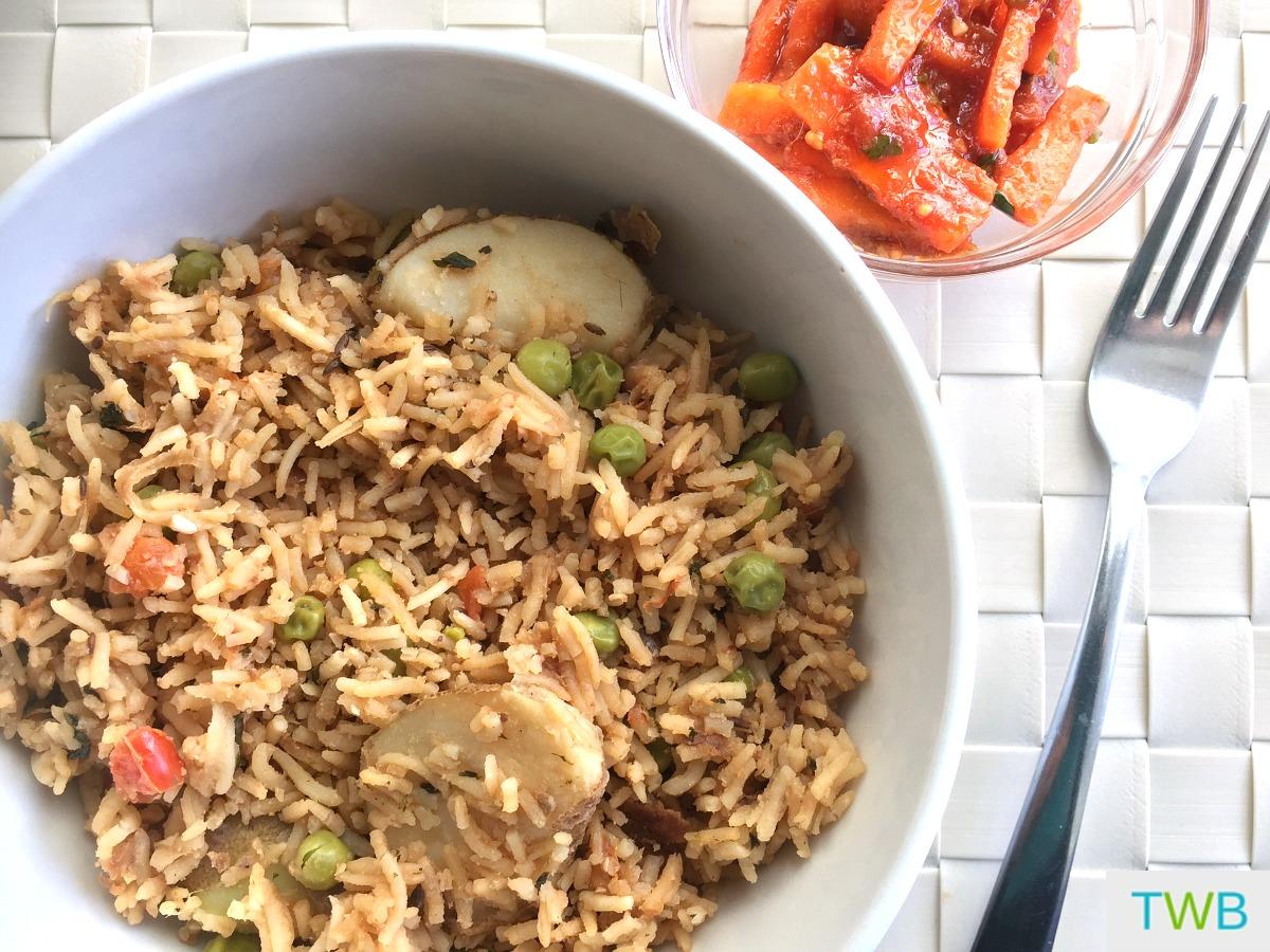 Vegetarian Akni - feature photo