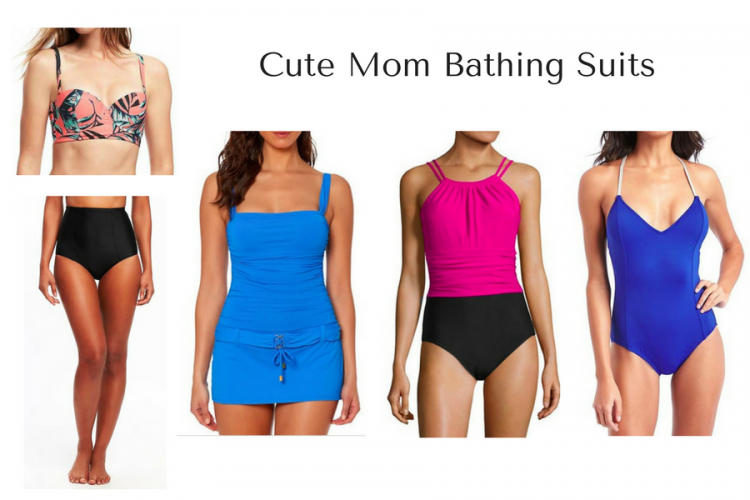 Mom Style Bathing Suits